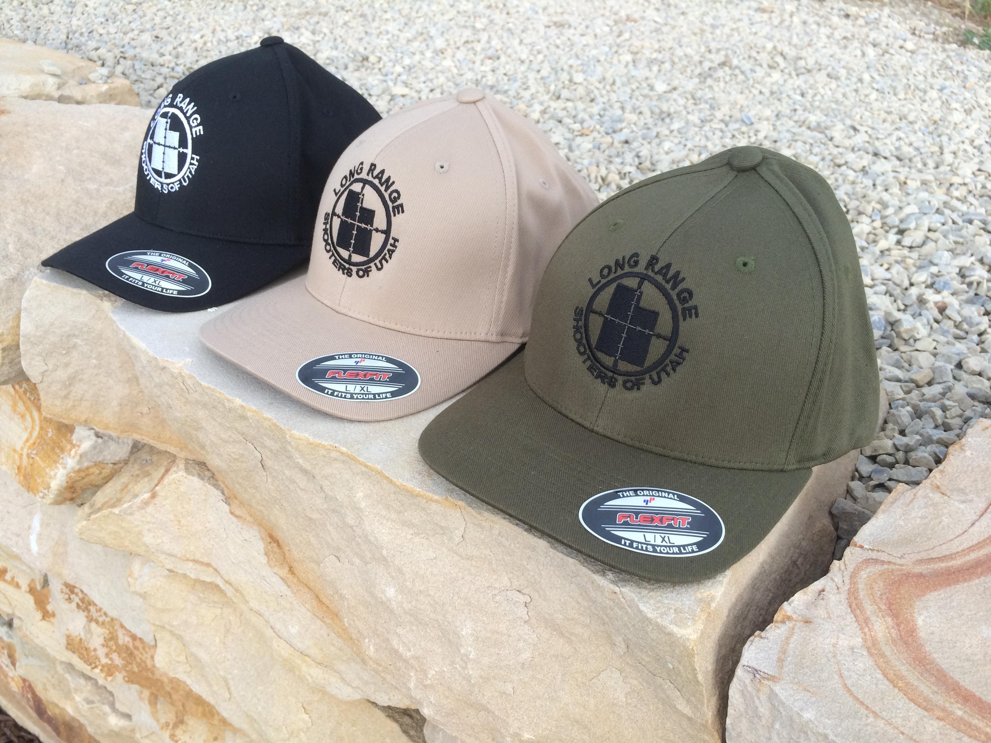 Original Lrsu Embroidered Flex Fit Brand Hat Long Range
