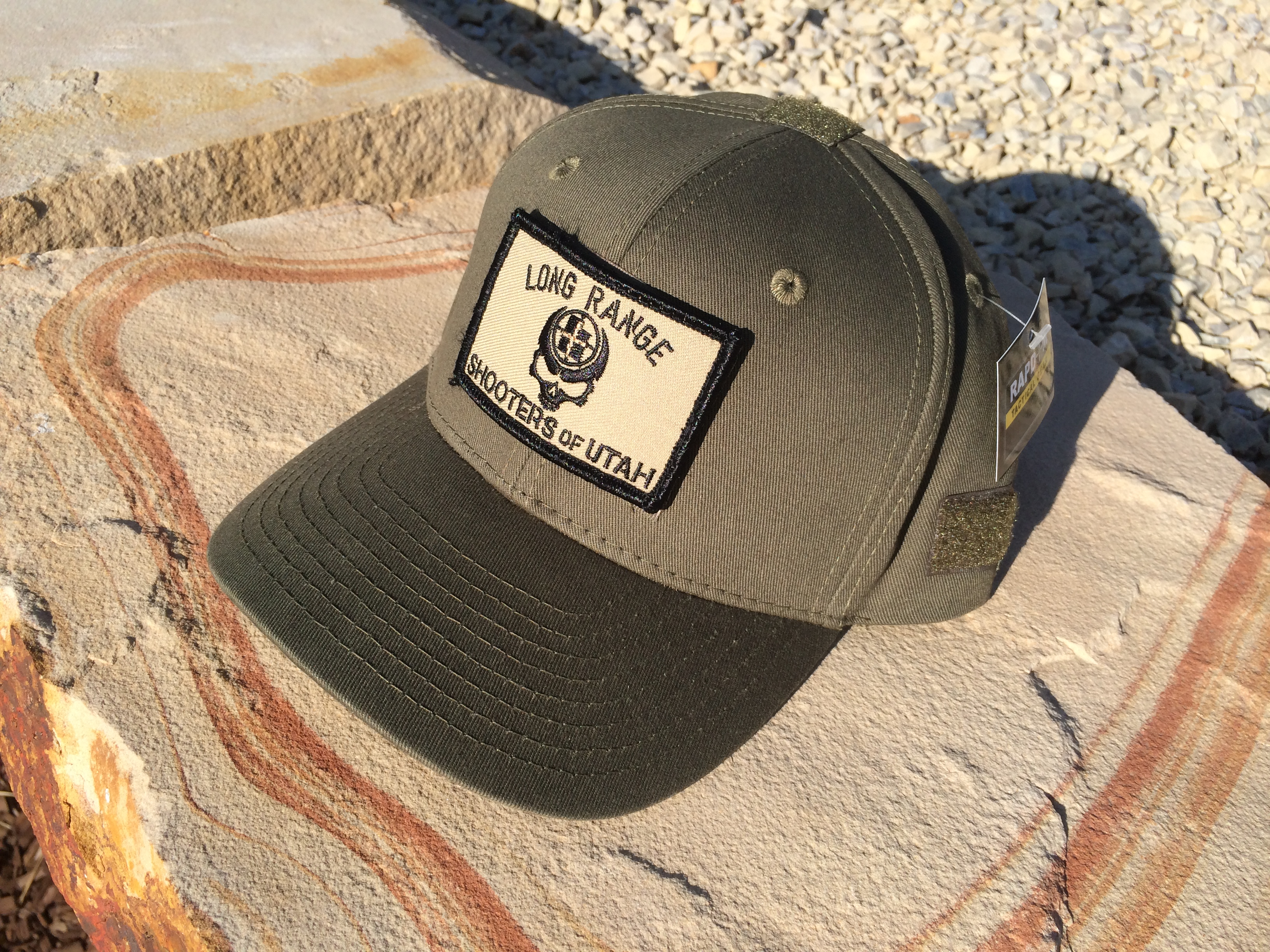 81cd88b98818d LRSU Operator Hat with Velcro Skull Patch