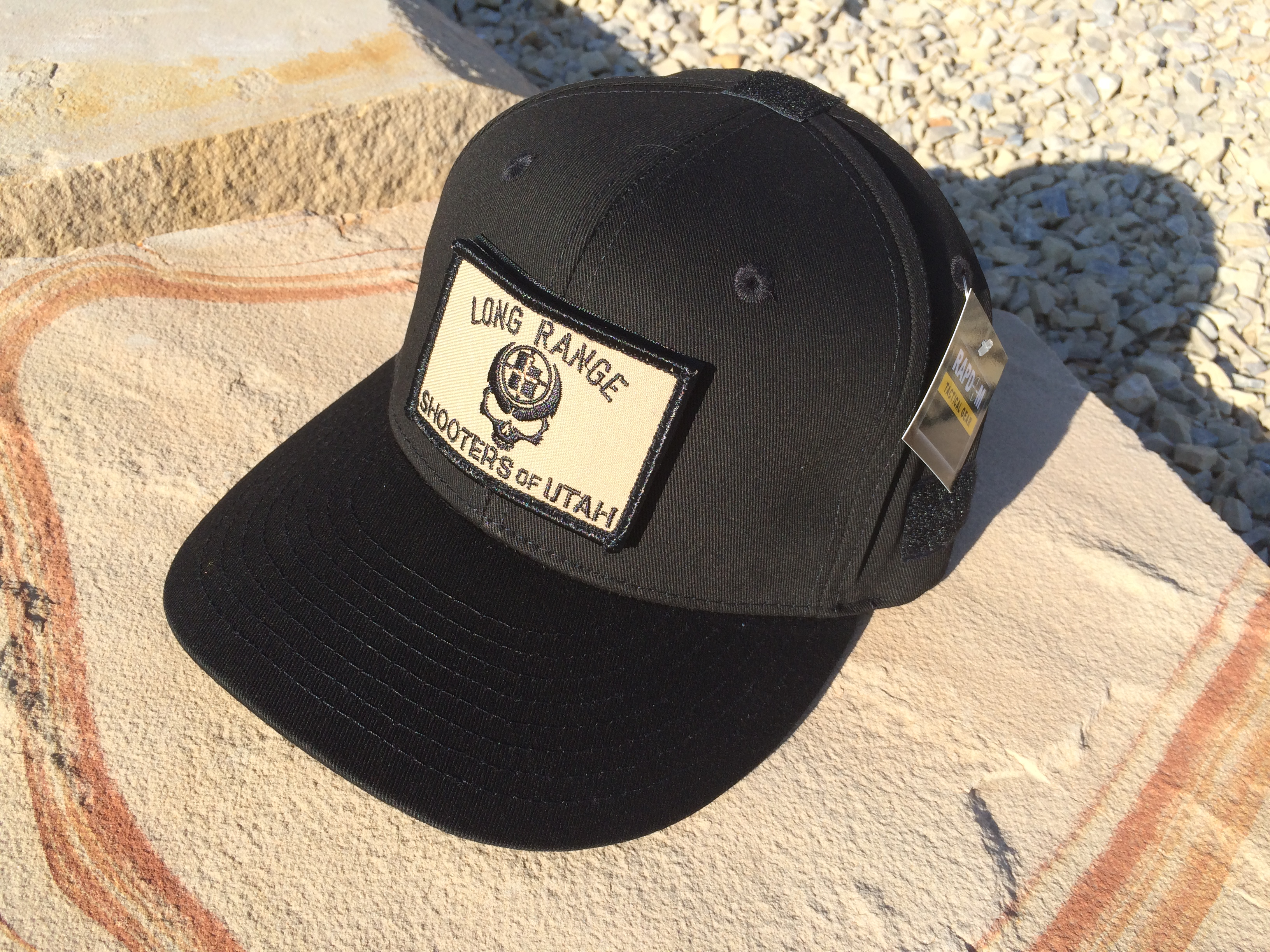 Lrsu Operator Hat With Velcro Skull Patch