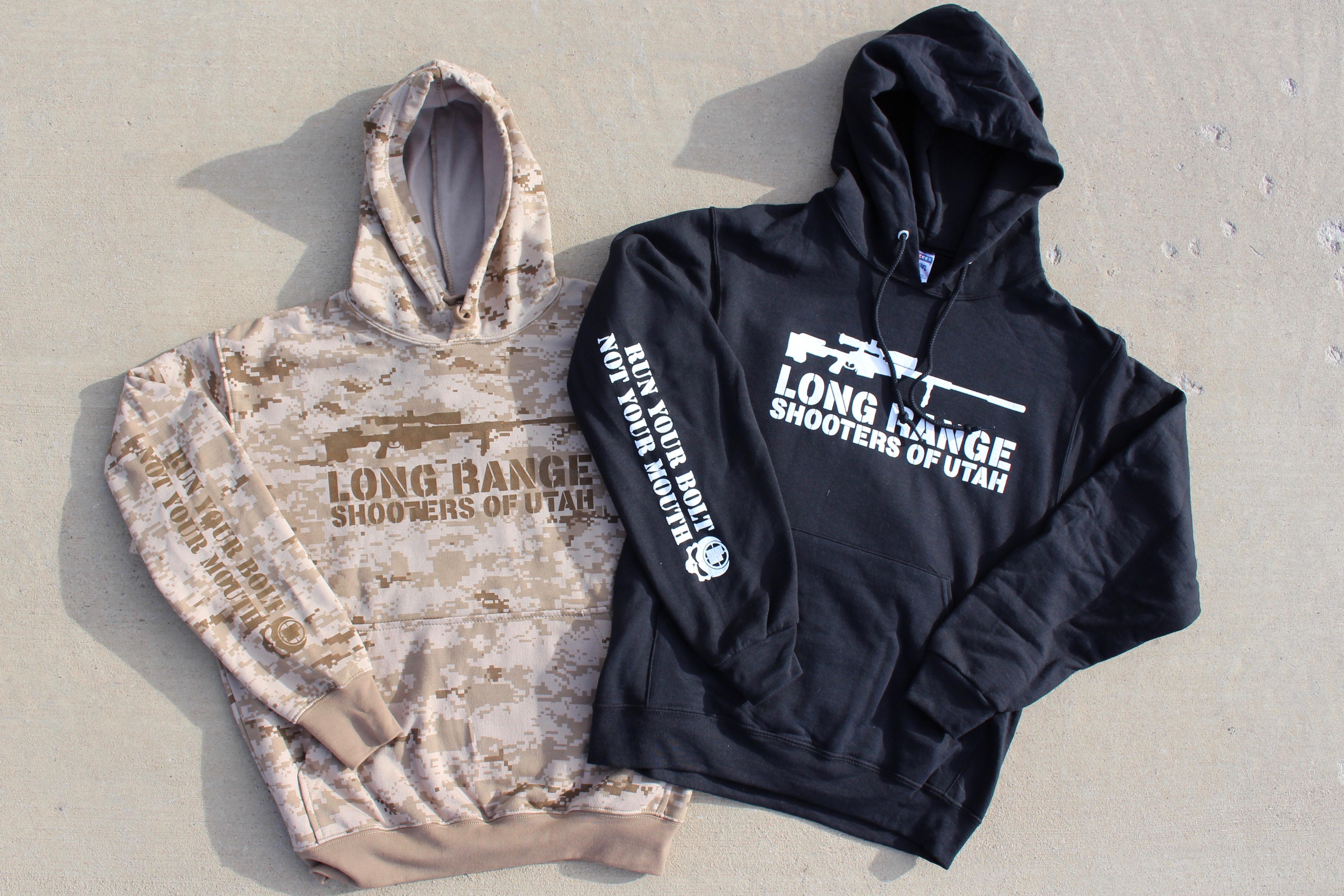 ff631b1d8a588 LRSU Rifle Logo Hoodie - Long Range Shooters Of Utah