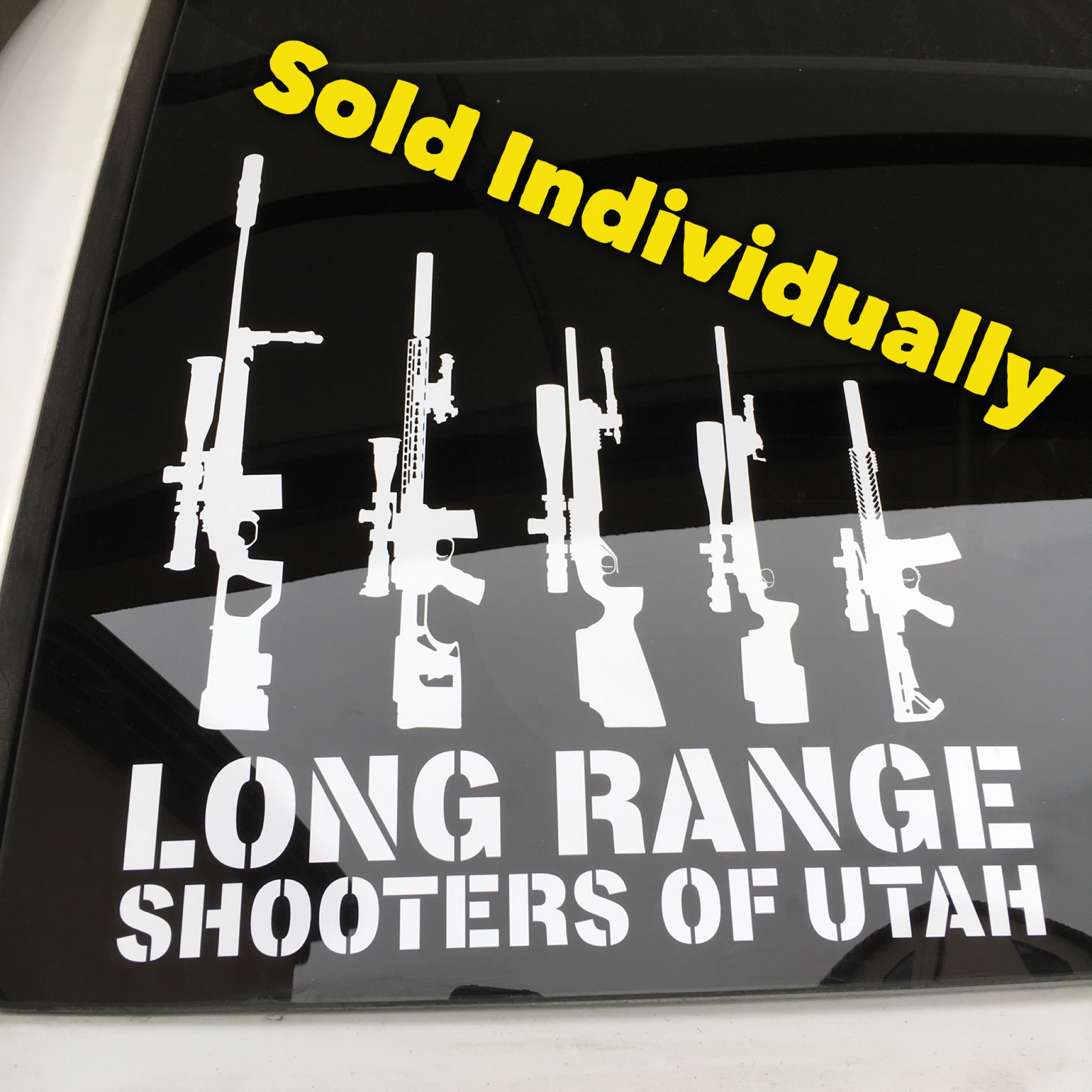 Rifle Family Decals Sbr Spr Amp Precision Rifles Long
